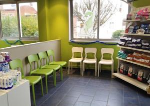 Salle d'attente vétérinaire Beauvais