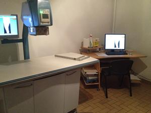 Salle de radiologie vétérinaire Beauvais